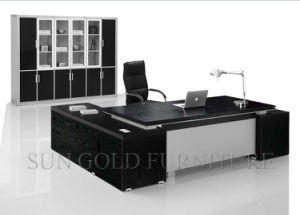 modern design luxury office table executive desk wooden furniture