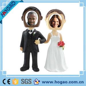 Polyresin Double Wedding Custom Talking Wobbler Bobble Head (HG-002) pictures & photos