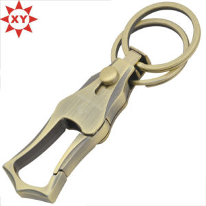 Manufacture Antique Gold Plating Keychain Made in China pictures & photos