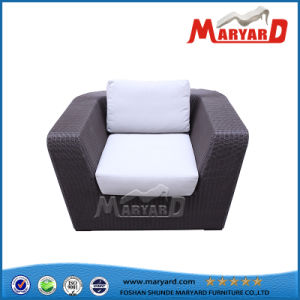 Outdoor Sofa Hot Sale PE Rattan and Aluminum Frame Garden Furniture pictures & photos