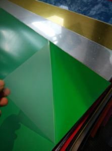 ABS Sheets Plastic Double Color Sheet for CNC/Laser Engraving pictures & photos
