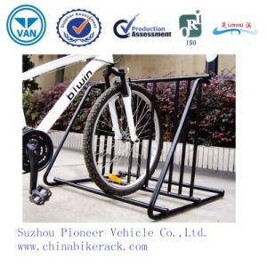 Black Powder Coated Bike Parking Stand Bike Racks pictures & photos