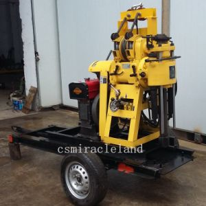 150m Portable Trailer Type Water Well Drilling Rig (YZJ-150Y) pictures & photos