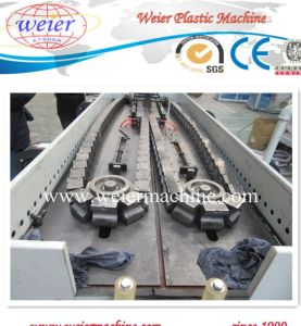 EVA PP PVC Flexible Single Wall Corrugated Hose Extrusion Line pictures & photos