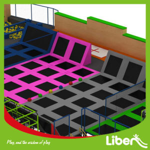 Best Indoor Trampoline Park with Rock Climbing Wall pictures & photos