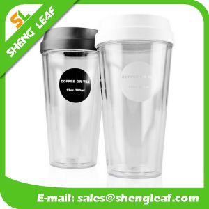 OEM Design Promotion Gifts Plastic Travel Mug (SLF-PM017) pictures & photos