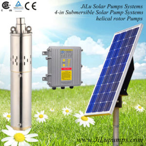 4inch Solar Submersible Water Pump, Irrigation Pump, Helical Rotor Pump, Stainless Steel Pump pictures & photos