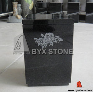 Black Granite / Marble Cemetery Urn / Cremation Urns pictures & photos