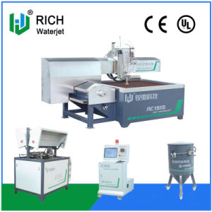 Economical CNC High Pressure Water Cutting Machine with Different Size pictures & photos