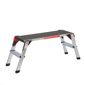 Aluminum Working Platform with 2 Steps pictures & photos