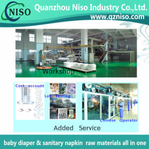 Skin-Friendly Diaper Top Sheet Nonwoven with SGS (NT-011) pictures & photos