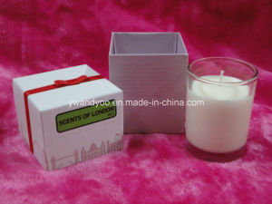 Blueberry Luxury Scented Candle with Cardboard Box Packaging