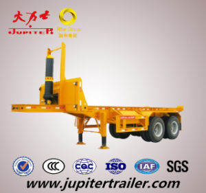 Container Dumper Tipper Semi Trailer Fast Unloading