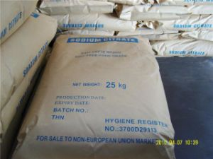 High Quality Food Grade Sodium Citrate (Na3C6H5O7) pictures & photos