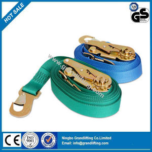 Full Range Supply Auto Ratchet Tie Down Lashing Belt pictures & photos