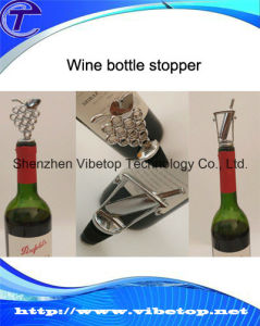 Stainless Steel Easy Wine Bottle Stopper Wbs-168 pictures & photos