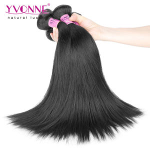 Top Grade Natural Straight Virgin Brazilian Human Hair Weft pictures & photos