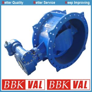 Butterfly Valve Double Flange Double Eccentric Long Type pictures & photos