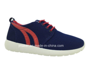 Womens Casual Sport Shoes Running Shoes with PVC Outsole (T06-L) pictures & photos