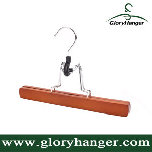 Maple Wood Pants Hanger for Cloth (GLWH157) pictures & photos