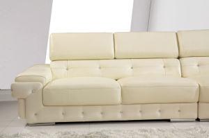 Living Room Genuine Sofa (H3026) pictures & photos