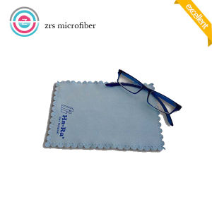 SGS Standard Jagged Microfiber Sunglasses Cleaning Cloth pictures & photos