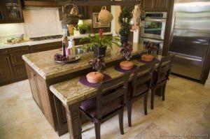 Dark Walnut Kitchen Cabinets (dw49) pictures & photos