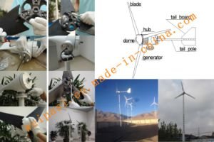 5kw Wind Power Generator System for Home or Farm Use Off-grid system GEL BATTERY 12V100AH pictures & photos