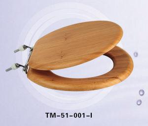 Solid Wood Veneer Toilet Seat
