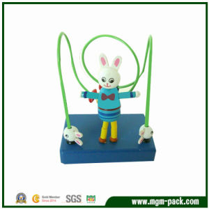 Lovely Design Wooden Maze Toy with Rabbit Doll pictures & photos