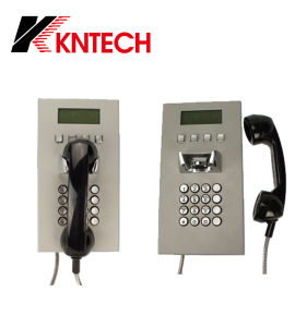 VoIP SIP Telephone Internet Telephones Knzd-05 LCD Waterproof Phone pictures & photos