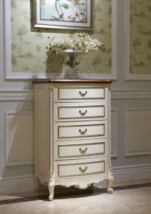 Classical Wooden Bedroom Furnuture (YPL-A8009b chest)