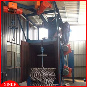 Hoisting Shot Blasting Machine for Motorcycle Parts/Frame/Heavy Gear pictures & photos