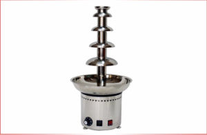 Industrial 110/230V 5 Tiers High Large Hotel Party Chocolate Fountain pictures & photos