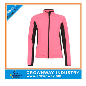 Fashion Pink Waterproof Outdoor Jacket for Running pictures & photos
