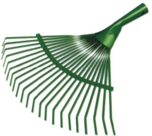 22 Teeth Garden Metal Leaf Rake