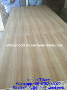 Furniture Board 14mm and 17mm Melamine and Natural Red Oak Veneer MDF pictures & photos