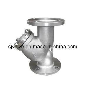 Pn40 Flange Strainer pictures & photos