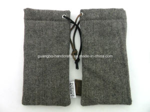 Fasion Design Custom Sunglassed Pouch Glasses Bag pictures & photos