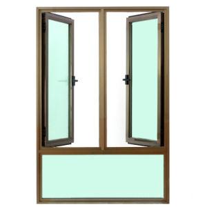 Aluminium Profile Casement Window with Fix Pane K03054 pictures & photos