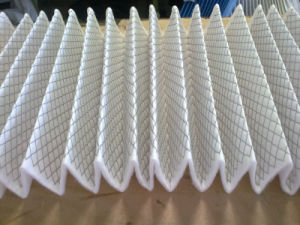 Metal Filter Mesh Compounded with Non-Woven Fabric for Pleated Filters pictures & photos