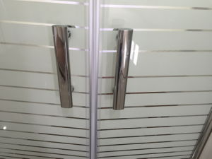 2 Hinge Door Without Tray Glass Shower (ADL-8A68) pictures & photos