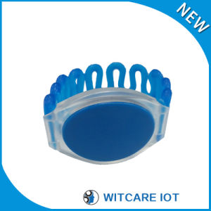 Waterproof Smart 13.56MHz Silicone RFID Wristband