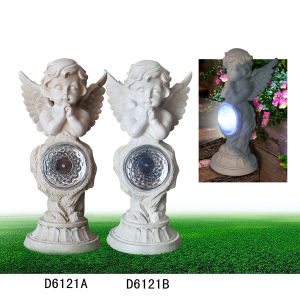 Resin Angel Garden Solar Light for Decoration pictures & photos