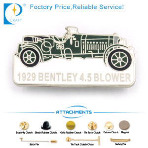 Bentley Blower Pin Badge in Ancient Style with Car Shape pictures & photos