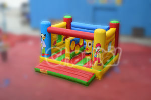 2015 New Cheap Inflatable Castle Jumping Bouncer (CHB130) pictures & photos