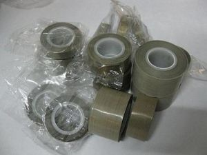Teflon Tape, PTFE Tape, Teflon Fiberglass Cloth Adhesive Tape for Hot Sealing pictures & photos