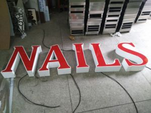 LED Facelit Illuminated Channel Letters Sign pictures & photos