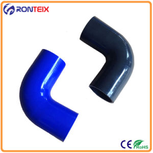 High Temperature 4-Ply Reinforced Silicone Elbow 90 Degree Rubber Hose pictures & photos