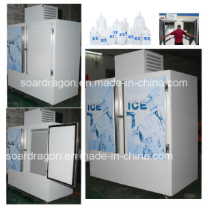 Outdoor Ice Storage Freezer to Store 750kg Bagged Ice pictures & photos